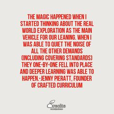 Read more on CraftED Curriculum's blog https://craftedcurriculum.com/project-spotlight-hitting-the-standards-with-real-world-exploration/