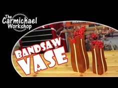 Bandsaw Vase - Artificial Flower Arrangements