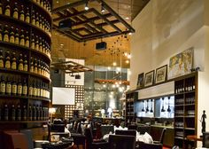Ristorante Amarone is a chic contemporary Manhattan-styled Italian restaurant and wine bar offering customers a full-bodied dining experience in Singapore, request a quote from them today for your next event.