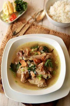 Resep Sup Ayam Kampung JTT