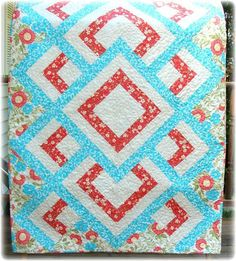 Beautiful baby quilt