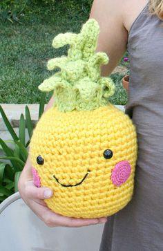 amigurumi pineapple
