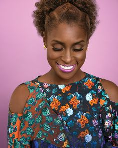 Ad week asked Issa Rae about Insecure and some other topics. I'm just obsessed with her hair. Cute Natural Hairstyles, Twa Hairstyles, Natural Hair Updo, Black Girls Hairstyles, African Hairstyles, Natural Hair Styles, Cornrows, Braids, Awkward Black Girl
