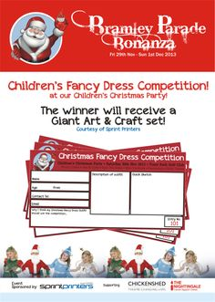 Bramley Bonanza Fancy Dress Competition, Childrens Fancy Dress, Christmas Fancy Dress, Childrens Christmas, Cancer Support, Christmas Costumes