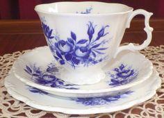 "Lovely RARE Royal Albert ""Connoisseur "" Pattern Tea Trio Set Mint | eBay"