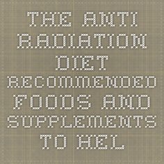 Healthy Tips - Safe Space Protection Radiation Exposure, Protein Foods, Healthy Tips, Counter, Detox, Cooking Recipes, High Protein Foods, Chef Recipes