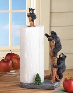 Northwoods Bears Paper Towel Holder:Amazon:Industrial & Scientific
