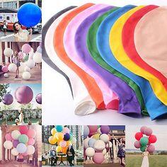 """36"""" Deko 10 Farben Latex Luftballons Hochzeit Raumdeko Riesenballon Geburtstag"""