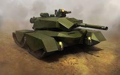 concept tanks: Concept tanks by Kemp Remillard