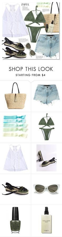 """""""Summer day"""" by duma-duma ❤ liked on Polyvore featuring T By Alexander Wang, OPI and Bobbi Brown Cosmetics"""