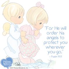 Precious Moments and Sayings - Yahoo Image Search Results Precious Moments Coloring Pages, Precious Moments Quotes, Precious Moments Figurines, Disney Precious Moments, Bible Art, Bible Scriptures, Bible Quotes, Advent Scripture, Bible Crafts