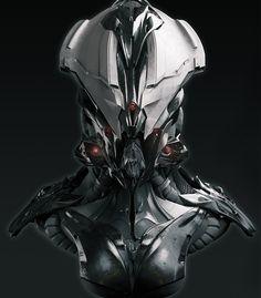concept robots: Robot by David Lesperance
