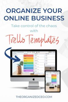 3 Free Trello Templates to organize your entire online business! These are perfect for service providers, coaches, consultants, virtual assistants, bloggers, podcasters, digital product creators, and course creators. Get the business dashboard, productivity planner, and systems and processes Trello boards today! Trello Templates, Business Dashboard, Business Organization, Online Entrepreneur, Virtual Assistant, Coaches, Productivity, Online Business, Organize