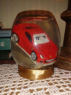 Glitter Jar with race car