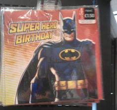 Batman Birthday Card (Next)