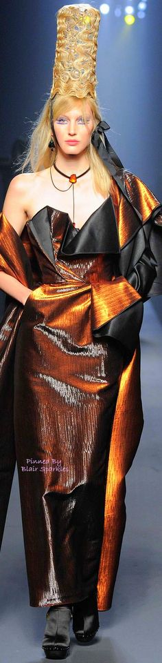 FALL COUTURE 2015 Jean Paul Gaultier ♕♚εїз | BLAIR SPARKLES |
