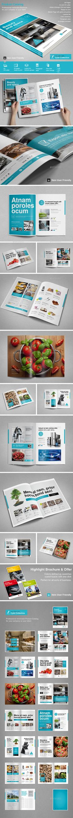 Product Catalog  — InDesign Template • Only available here ➝…