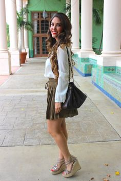 Pleated Details - Miami Fashion Blogger
