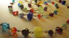 Delicious multicolour Beaded Bracelets, Charmed, Glass, Beauty, Jewelry, Jewlery, Drinkware, Jewerly, Pearl Bracelets
