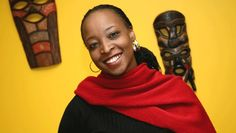 South Africa writer Angela Makholwa