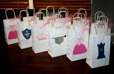 prince and princess party favors, personalized