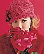 Crochet hat EASY instructions  Flowered Cloche