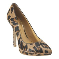 Nine West Leopard Pumps (Love Fury). Goes for $60.  I'm selling a pair for $40. Size 7.