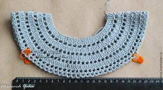 Tina's handicraft : kids dress – Babykleidung Crochet Toddler, Baby Girl Crochet, Crochet Baby Clothes, Crochet For Kids, Crochet Yoke, Crochet Collar, Crochet Stitches, Irish Crochet, Diy Crafts Crochet