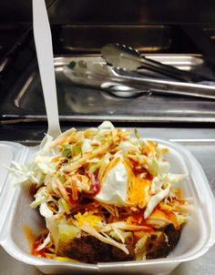 BBQ Baker - Loaded Baked Potato w/Choice of Meat