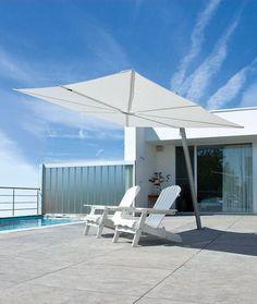 un parasol design pour la terrasse