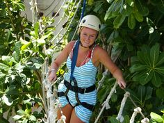 Adventure Park, Zip Line & Snorkel Combo  Cozumel, Mexico- kids loved this place!! I did too