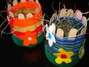 ARGE Kleinschulen in Vorarlberg: > Textiles Werken Textiles, Summer School, Art School, Children, Kids, Teaching, Christmas Ornaments, Knitting, Holiday Decor