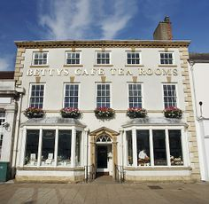 Bettys Tea Room, Northallerton, England  2012 Best Afternoon Tea Award from the UK Tea Council