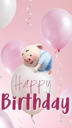 Looking for for inspiration for happy birthday wishes?Browse around this website for cool birthday inspiration.May the this special day bring you happy memories. Happy Birthday Pig, Birthday Cartoon, Happy Birthday Pictures, Animal Birthday, Birthday Kids, Birthday Greeting Message, Happy Birthday Messages, Happy Birthday Greetings, Birthday Wishes Quotes