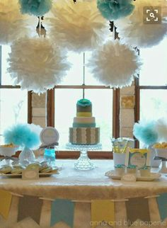 Cake table decoration