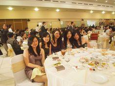 With the indo girls at Yovita's wedding, Bandung Indonesia