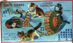 Cats Brand firecrackers.