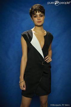 Detalhe do Vestido da Sophie Charlotte  .Peça da grife A.Brand.