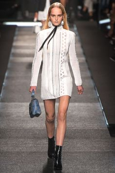 On the catwalk at Louis Vuitton Spring-Summer 2015 Fashion Show #PFW #RTW #SS15 #LouisVuitton #LVMH