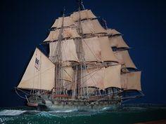 Beautiful ship model.