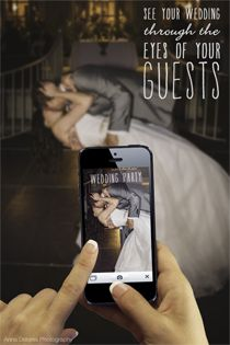 PERFECT!!!! Use Wedding Party to collect all your guests wedding photos. It's the app for your wedding!