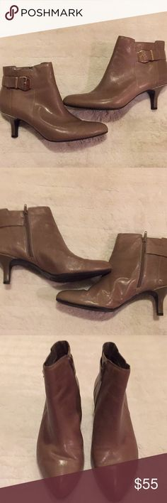 Anne Klein Heeled Booties🌟 Anne Klein heeled booties in excellent condition, only worn a few times, super cute, thanks for looking 😊 Anne Klein Shoes Ankle Boots & Booties