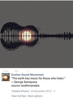 The earth has music
