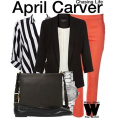 Inspired by Italia Ricci as April Carver on Chasing Life.