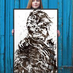 Star Wars Chewbacca Poster
