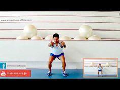 Aula 4 Dance em Casa - Divertida e fácil dançar - www.exerciciosaerobicos.net - YouTube Youtube, Zumba, Crossfit, Gym Equipment, Exercise, Fitness, Sports, Home Fitness, Fat Burning