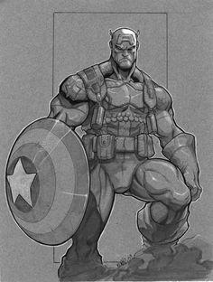 captain a by MiaCabrera.deviantart.com