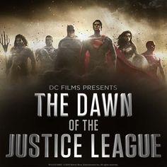 """Hoje à noite o canal CW exibirá, nos EUA, o especial """"DC Films Presents: The Dawn of the Justice League"""", e para marcar o evento a Warner divulgou um cartaz que revela a formaçãodaLiga da Justiça..."""