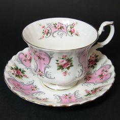 Royal Albert China | Royal Albert Valerie Teacup at Classy Option - Vintage Love Story ...