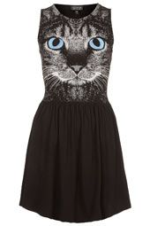 Cat Face Skater Dress - I'll have it in one week!! can't wait : )